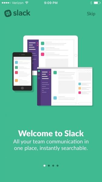 Slack has a super-clear value proposition.