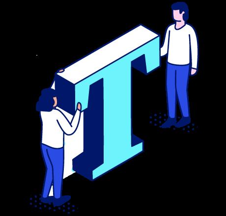 content team illustration